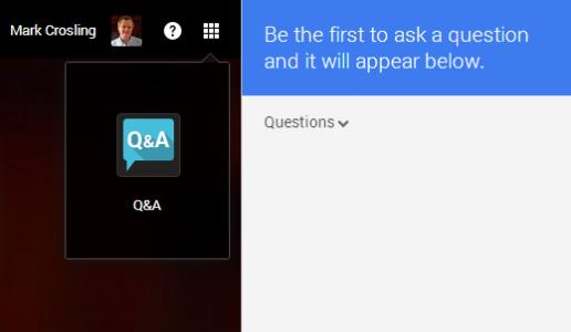 Q&A app icon opens