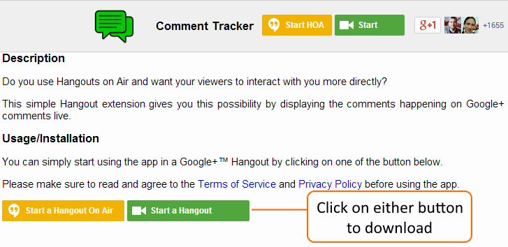 Download Comment Tracker
