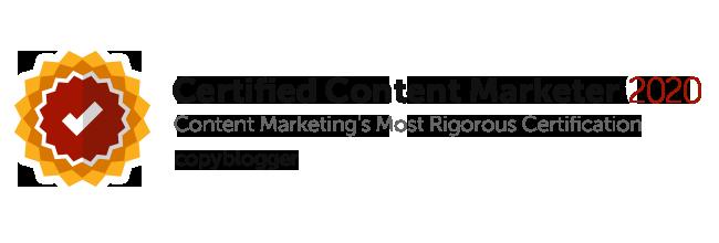 Mark Crosling Copyblogger Certified Content Marketer 2020